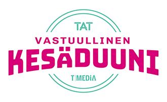 Vastuullinen kesäduuni - TAT -logo