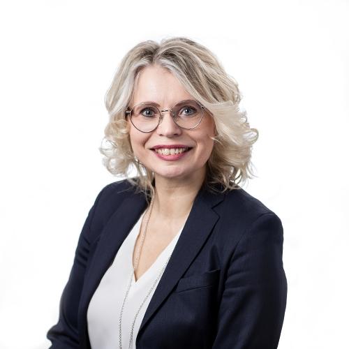 Kuvassa Minna Sillanpää, viestintäjohtaja