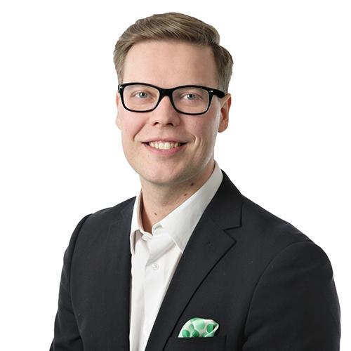 Henkilökuva Markus Raaska