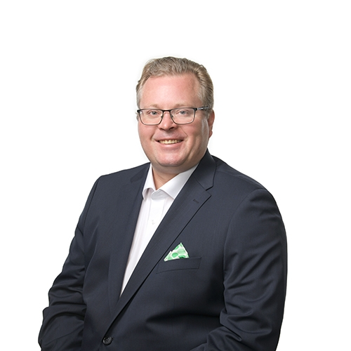 Jarmo Nikunen, aluejohtaja.