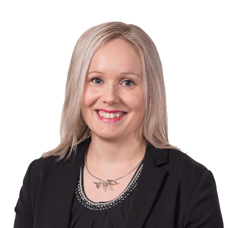 Sarianna Liiri, talous- ja hallintojohtaja.