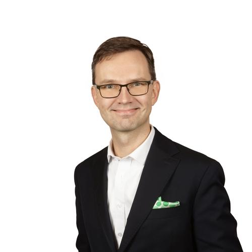 Jussi Vallinkoski, hankejohtaja.