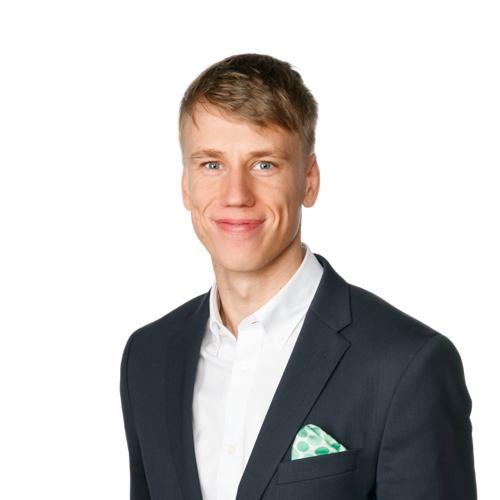 Henkilökuva Jesse Sarajärvi